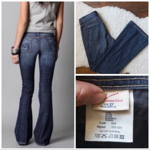 Citizens of Humanity low waist flare jeans size 27